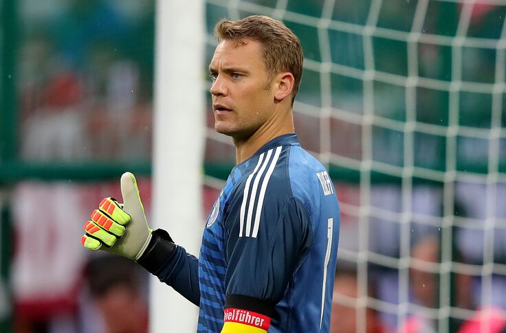 low priced 55236 03bf5 Bayern Munich: Manuel Neuer to prove he's still the best at ...