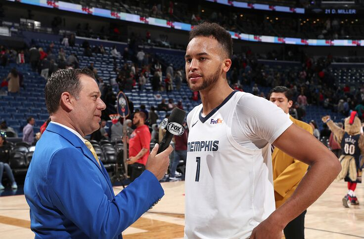 purchase cheap e38d3 346a4 Memphis Grizzlies' Kyle Anderson Confident and Ready to Play
