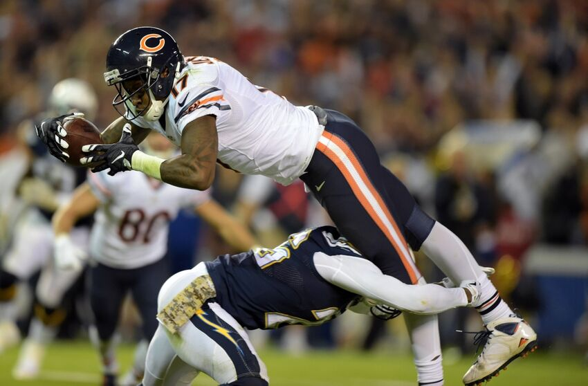 Chicago Bears Alshon Jeffery Day To Day With Groin Injury
