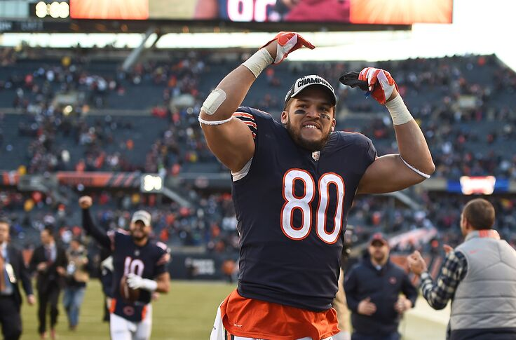 premium selection 1cbbb 367e5 Could Chicago Bears be without Trey Burton Week 1?