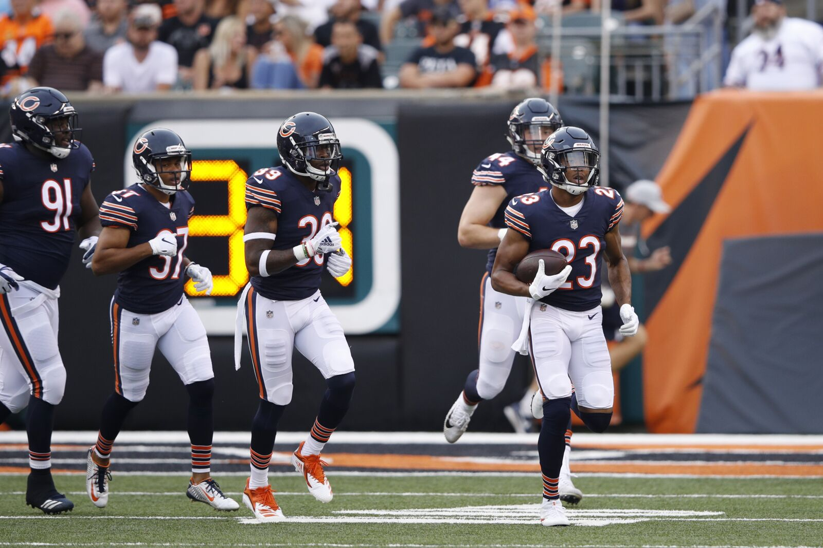 News and Notes from Bears- Broncos Joint Practices