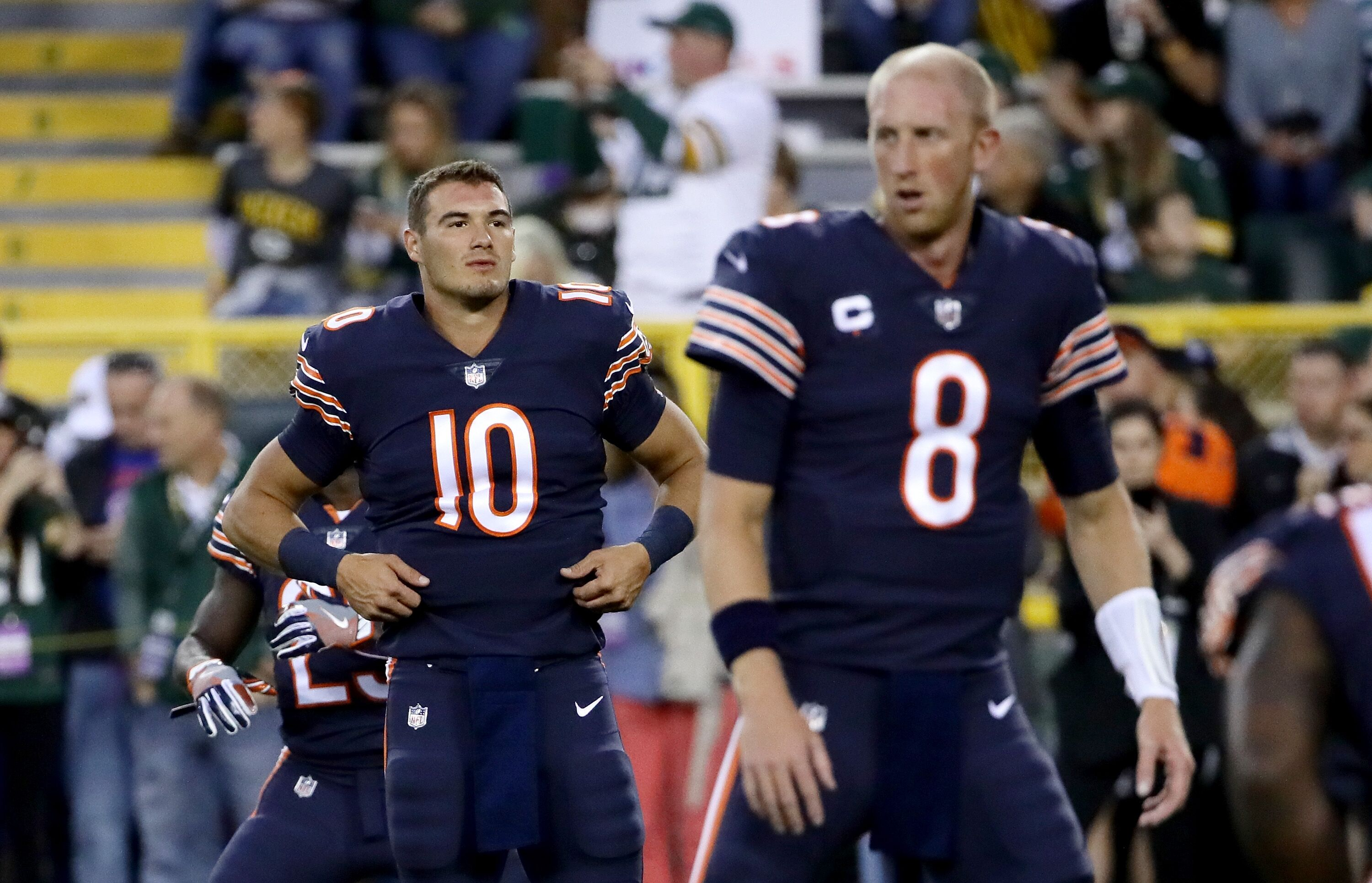 Image result for Mike Glennon Mitchell Trubisky