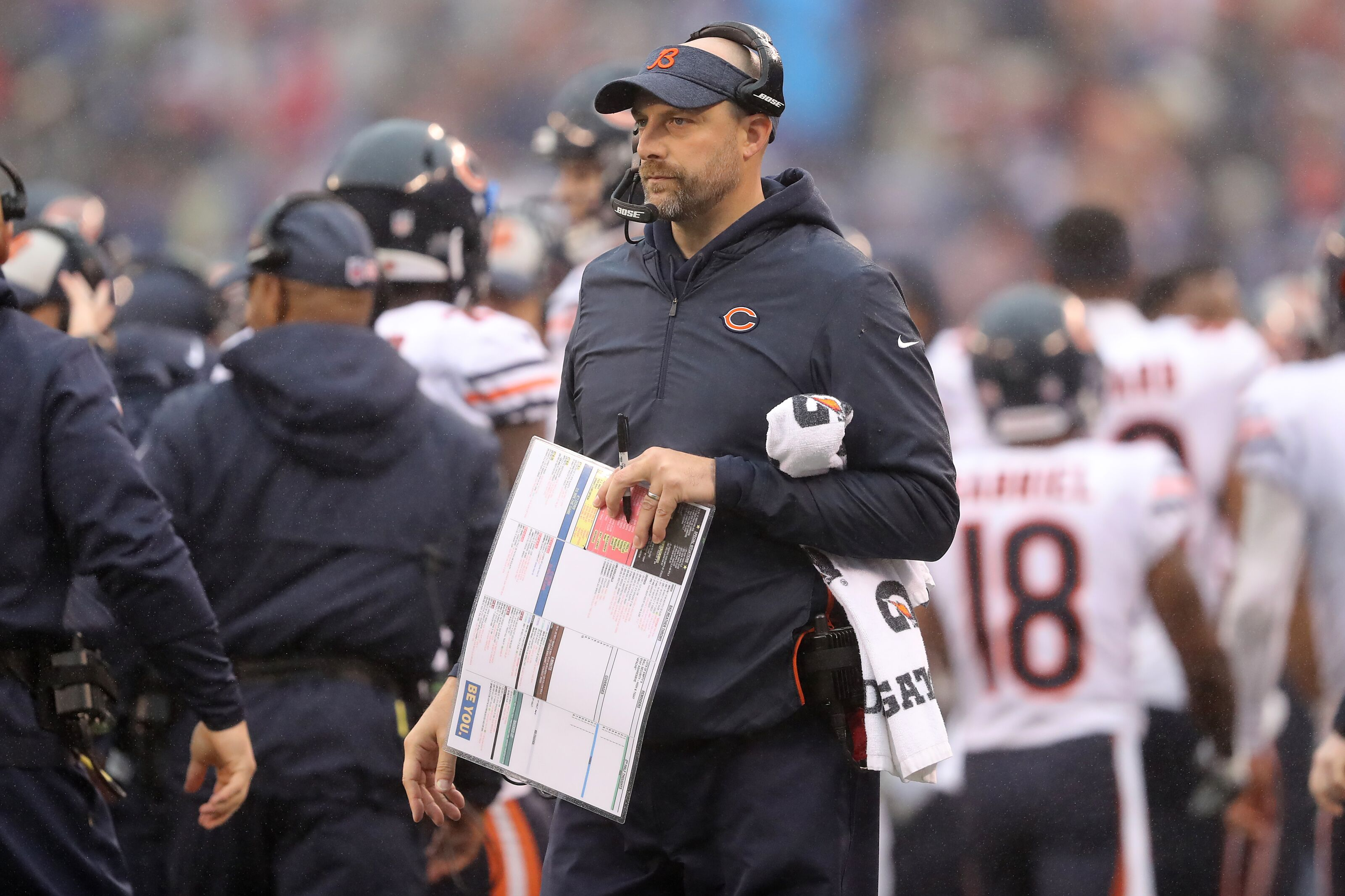 Film Review: What Matt Nagy can learn from Russell Wilson vs Rams