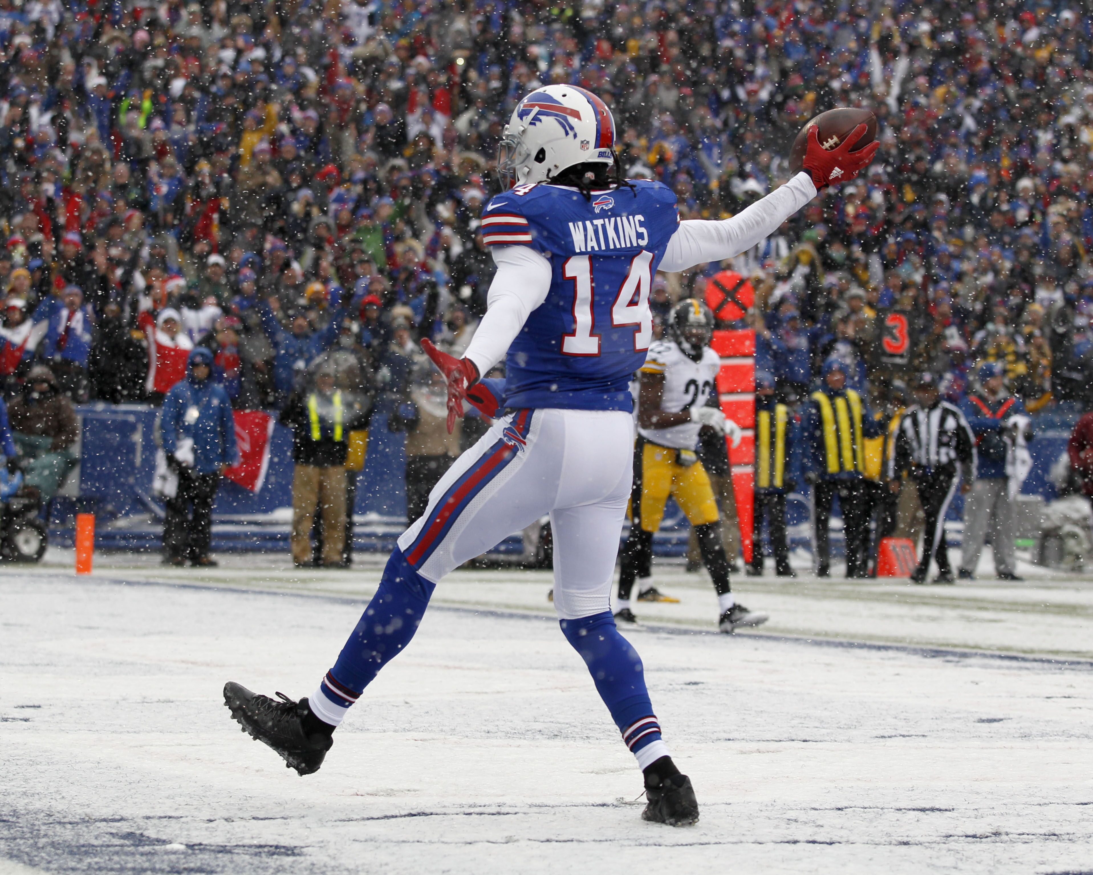 Chicago Bears: Could Sammy Watkins be a 2018 Target?
