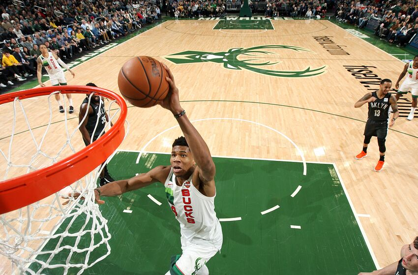892673583dc Milwaukee Bucks Daily  Giannis is leading East All-Star voting return