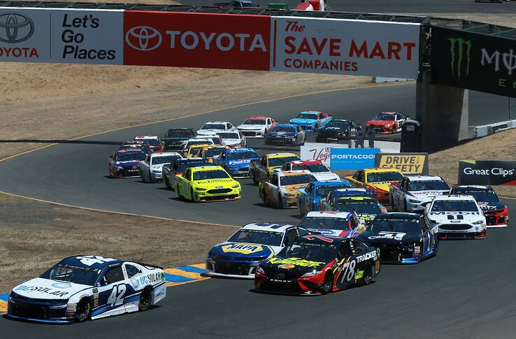 Image result for sonoma raceway nascar cup series