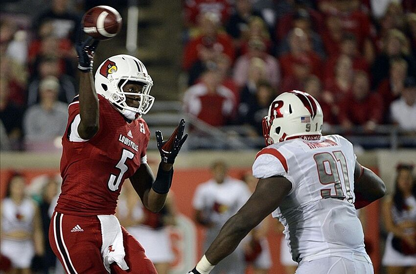NFL Draft 2014  Analyzing Rutgers vs Louisville for Teddy Bridgewater f7f4934c4