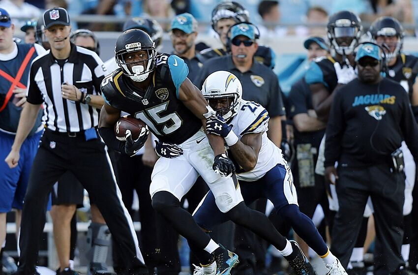 jacksonville jaguars vs chargers provides measurement for progress