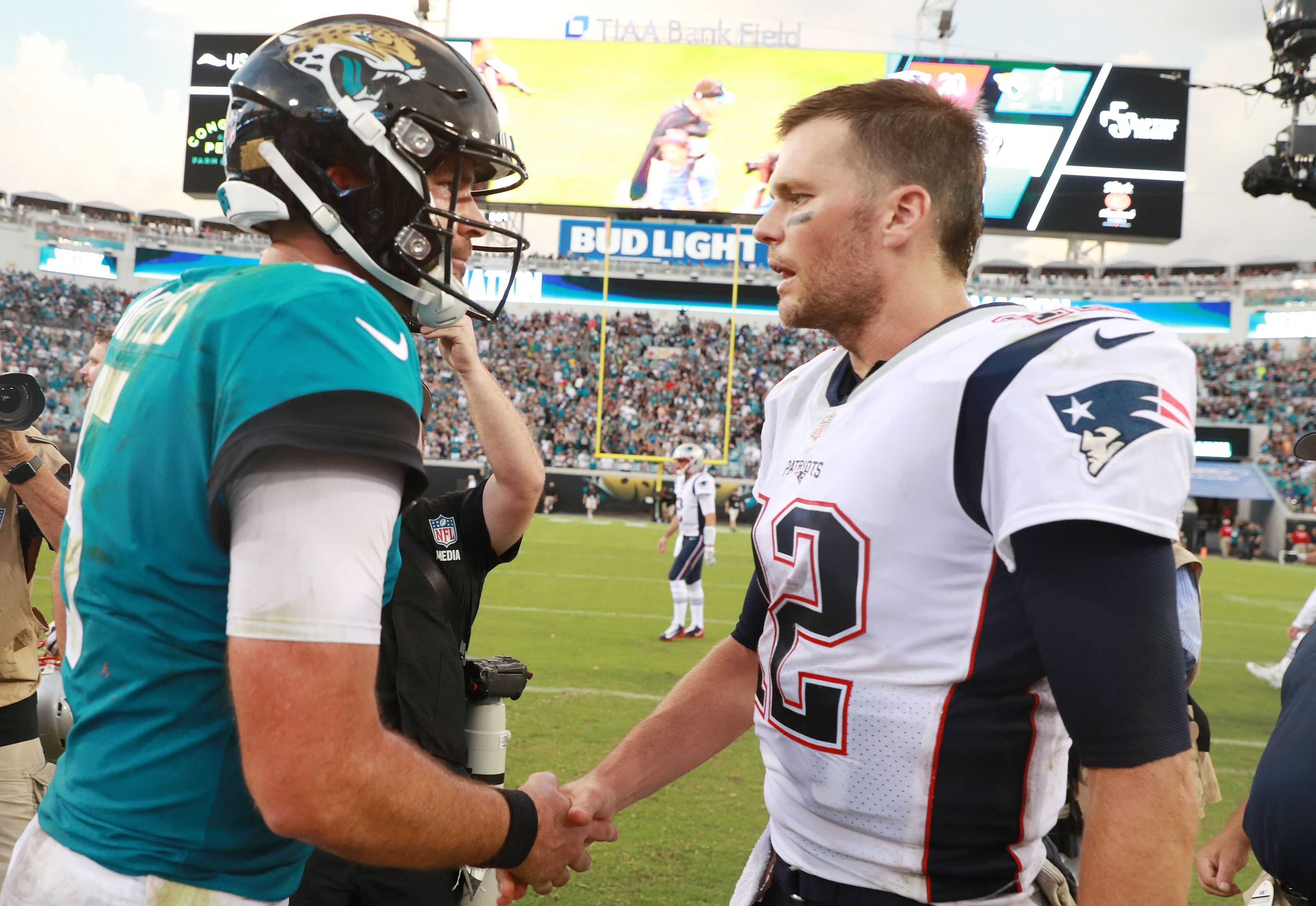 Links between final four NFL teams and the Jaguars