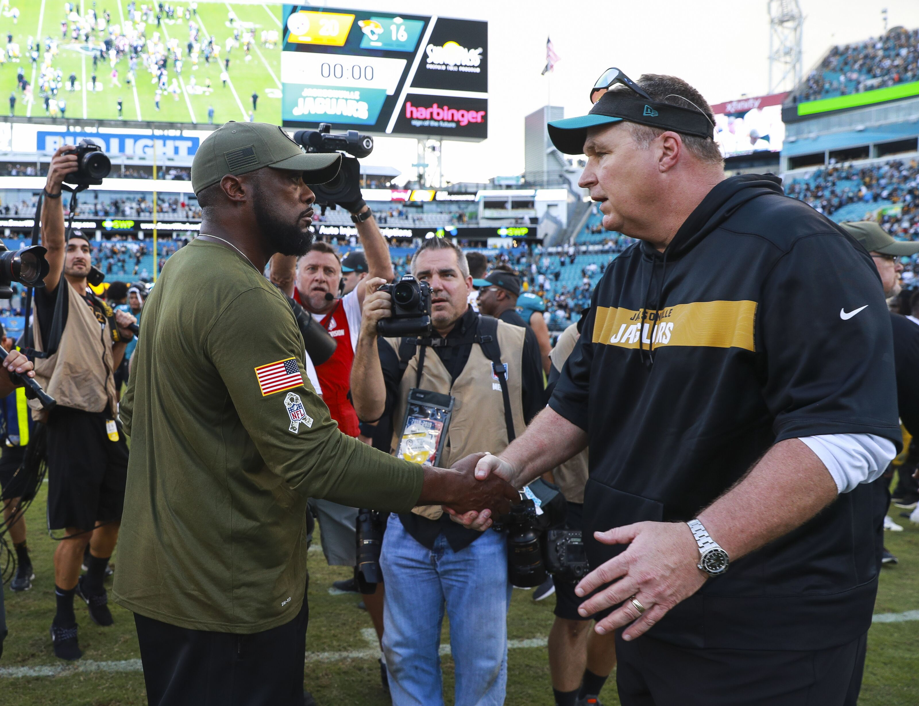 The Jacksonville Jaguars lost a heartbreaker to the Pittsburg Steelers