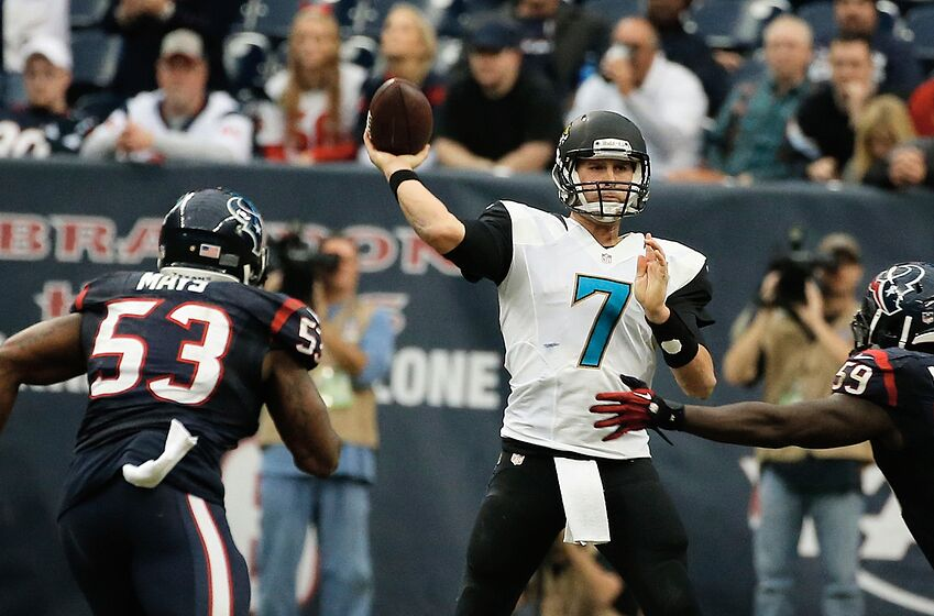 52a2516d85e Jaguars quarterback rankings proves the need for a new signal caller
