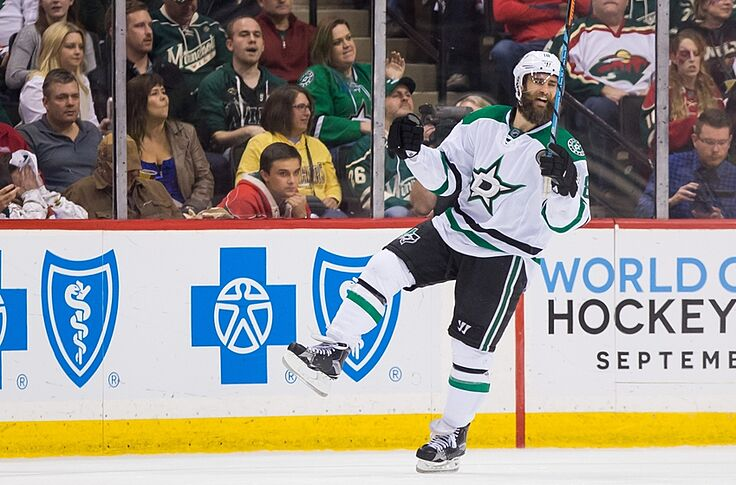 detailed look aeb11 da098 Dallas Stars Signing Patrick Eaves May Be Best Of Offseason