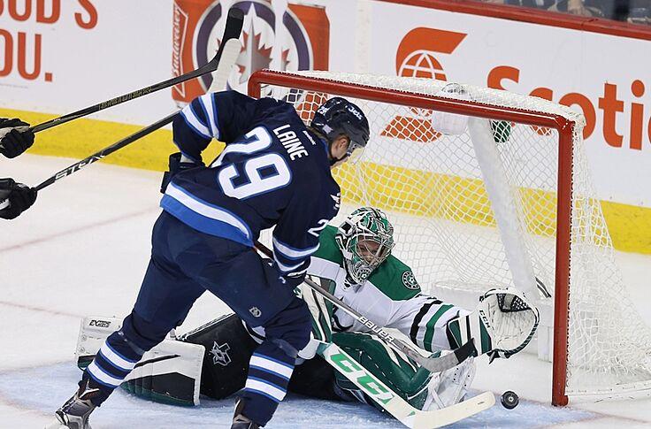 more photos af582 fee20 Dallas Stars Fall Hard to Winnipeg Jets, 8-2