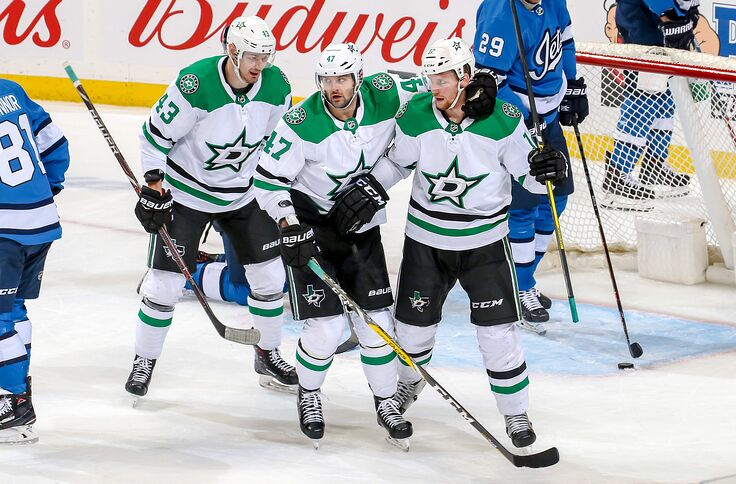 new product ccf30 22606 Dallas Stars: Confident Win Against Jets Reignites Playoff ...