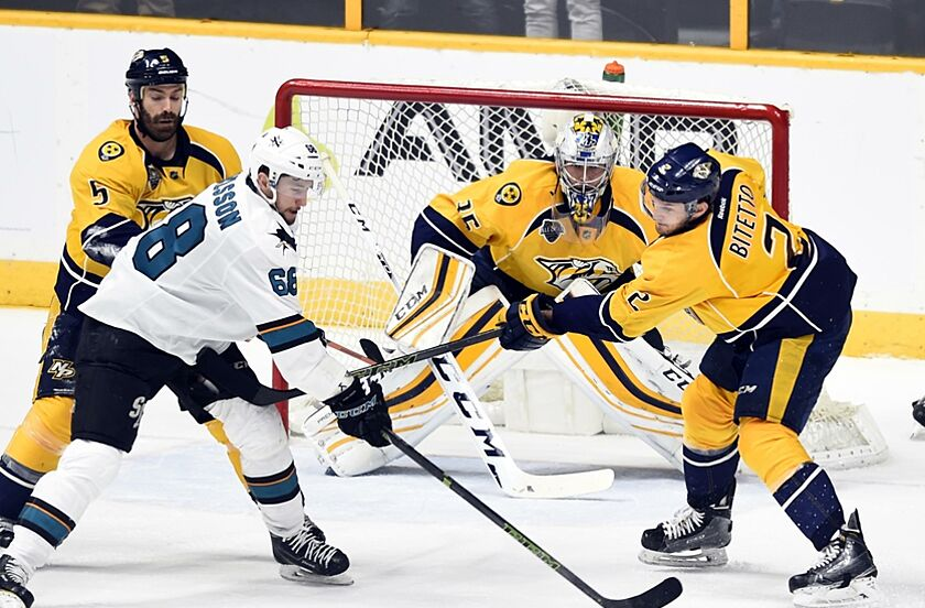 San Jose Sharks Look For Better Effort in Game 4 0fb94798e