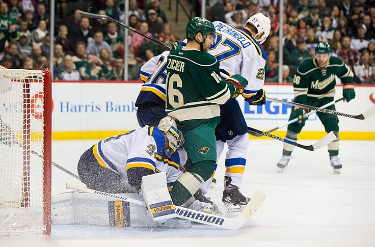 St Louis Blues Almost Choke Against The Minnesota Wild