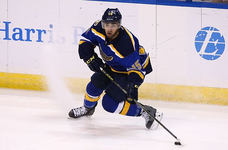 half off 6c74b 548c9 St. Louis Blues: Robby Fabbri Bookends Complete Team Win In ...