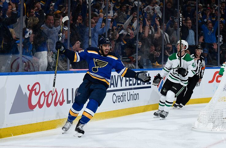 reputable site 5ccee 7edd4 St. Louis Blues Ink Robby Fabbri To One-Year Deal