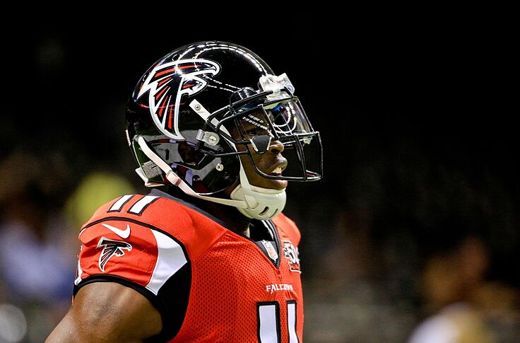 new styles fb19f 81233 Atlanta Falcons: Julio Jones finishes in top 10 of NFL Top 100