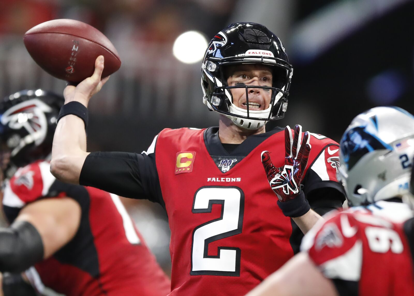 Atlanta Falcons sweep Panthers for third time in four years