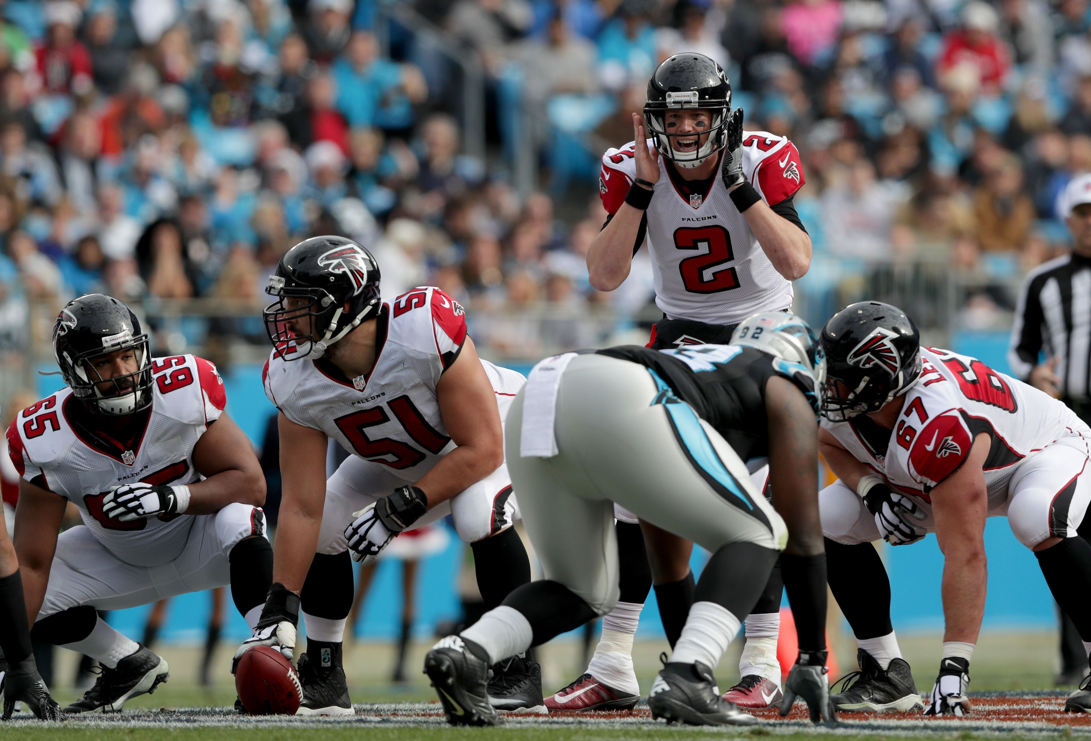 Image result for Panthers vs Falcons Live pic logo