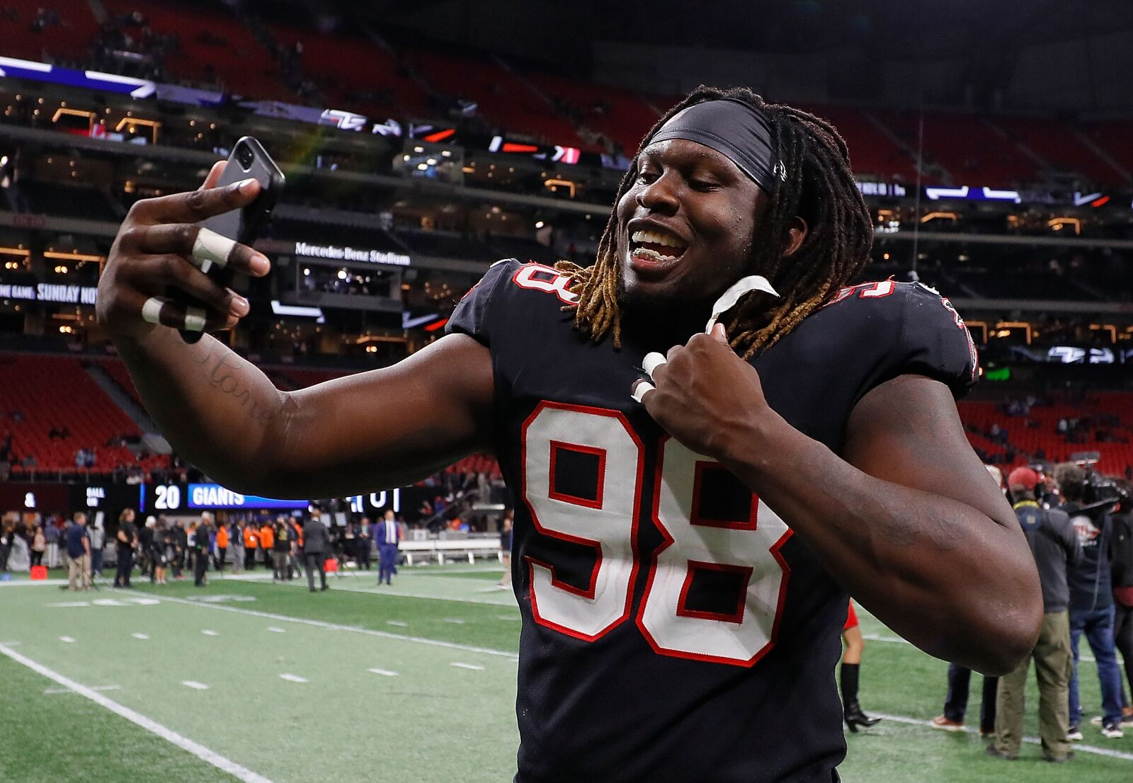 Atlanta Falcons can't wait for return of the Takk