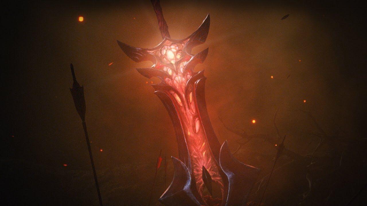 Aatrox's Sword, Courtesy of Riot Games