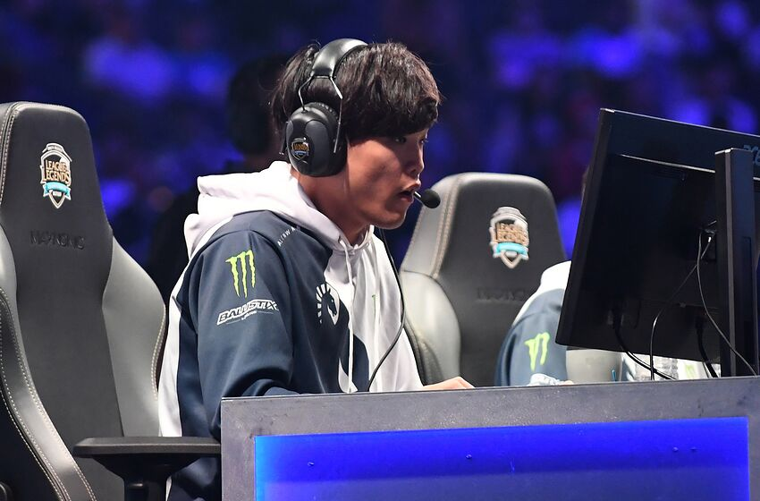 OAKLAND, CA - SEPTEMBER 09: Impact of Team Liquid competes against Cloud9 during the 2018 North American League of Legends Championship Series Summer Finals at ORACLE Arena on September 9, 2018 in Oakland, California. (Photo by Robert Reiners/Getty Images)