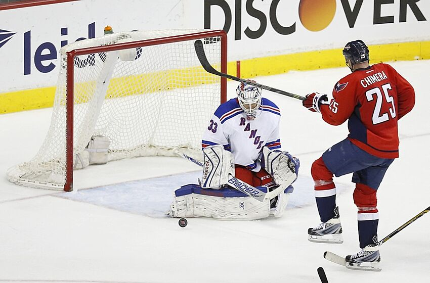 New York Rangers Visit Washington Capitals In Last Game Of The Season bfe032fe6f4