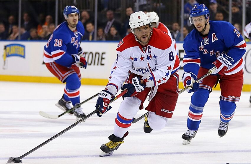 New York Rangers Face Washington Capitals in Game Two 417132431