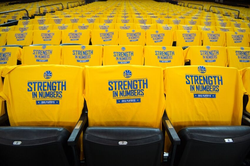 Golden State Warriors' Strength in Number Shirts are Beautiful