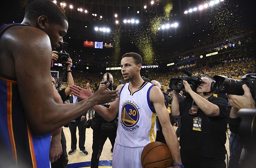 298c5d0b6a9c Golden State Warriors to Sign Former MVP Kevin Durant