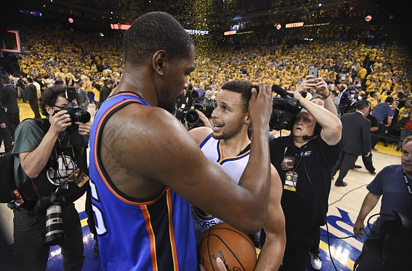 Golden State Warriors  The Thunder didn t deserve Kevin Durant 2a33daf1c