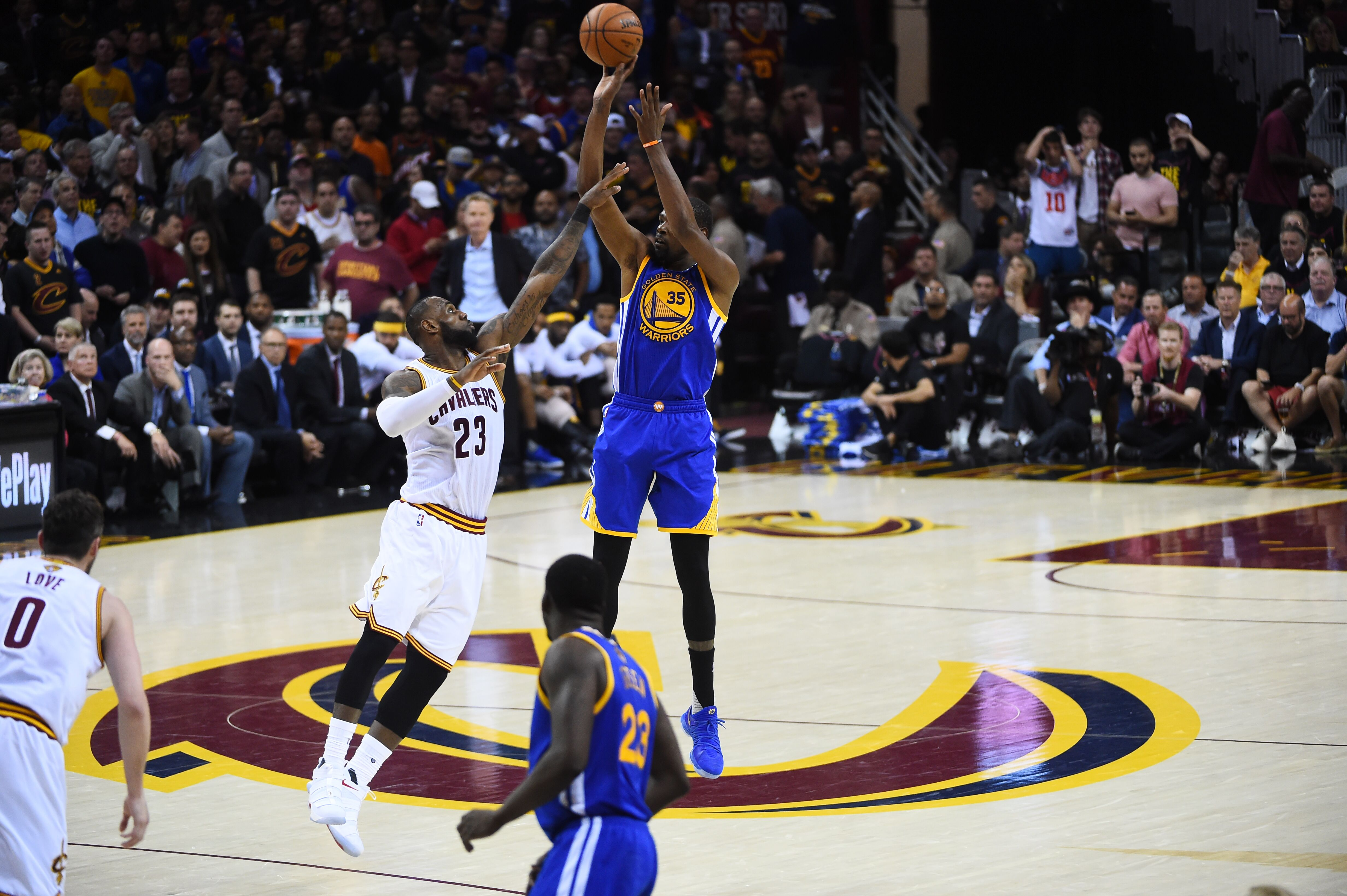 Golden State Warriors biggest shot: Curry in OKC or KD ...