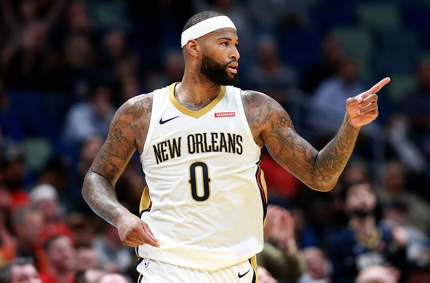 4c32155e NEW ORLEANS, LA - JANUARY 22: DeMarcus Cousins #0 of the New Orleans