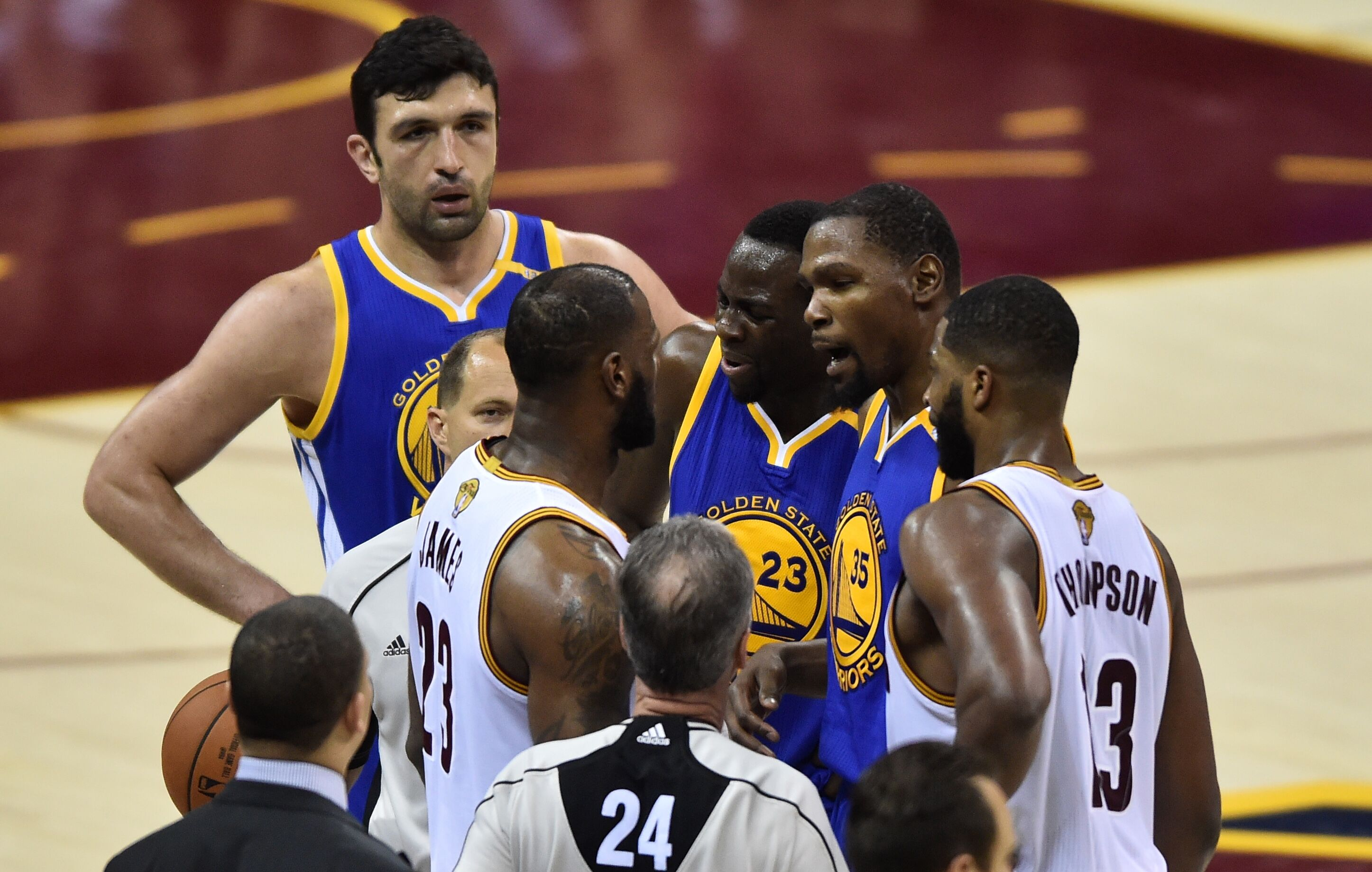 Golden State Warriors fall in Game 4 of the NBA Finals