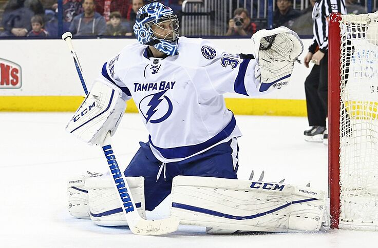 low priced 0b56d de88d Tampa Bay Lightning G Ben Bishop Could Be Poised For Win ...