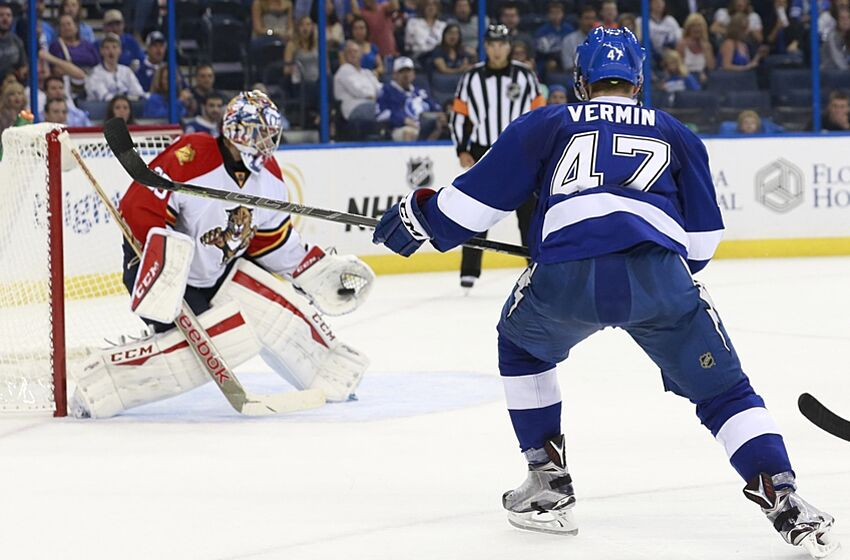 tampa bay lightning checking up on the syracuse crunch