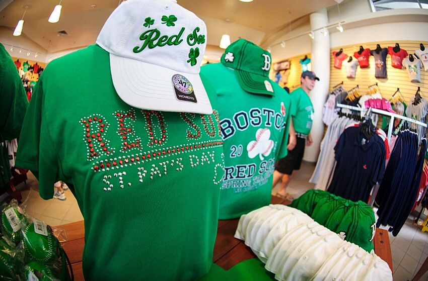 Boston Red Sox Go Green A Long Time - BoSox Injection 2cbf12a47