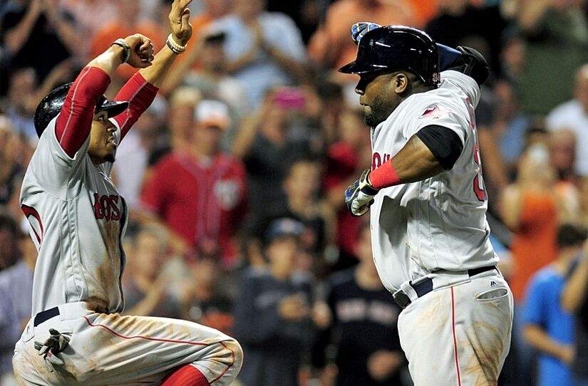 33db81ce924 Red Sox David Ortiz And Mookie Betts Set Magic Numbers