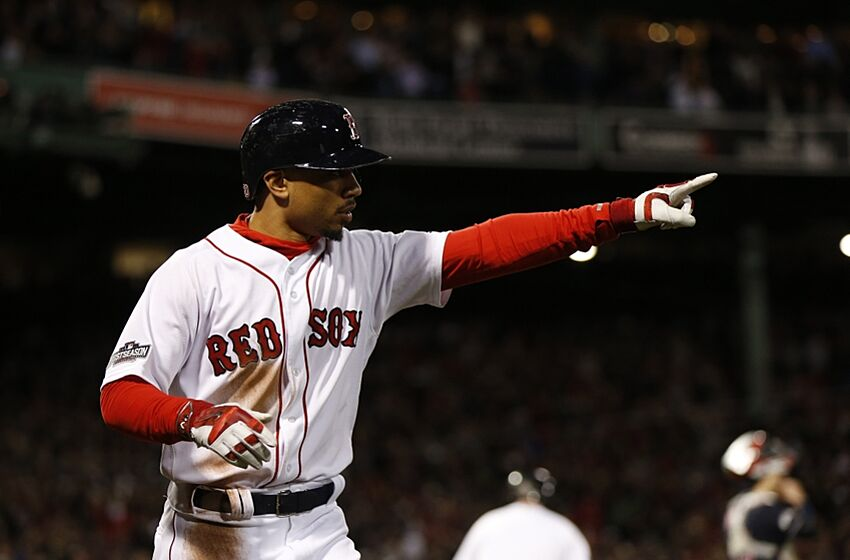 692829be3 Red Sox  Mookie Betts named best right fielder in baseball