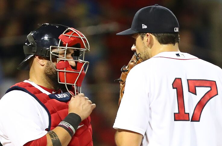 quality design abaed 5ebb8 The Red Sox are feeling the loss of Sandy Leon early in 2019