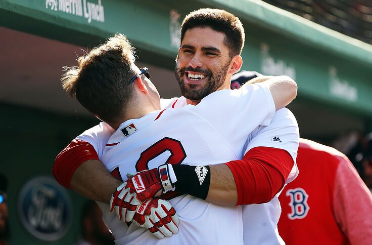 Red Sox outfielder J D  Martinez is the best hitter in baseball