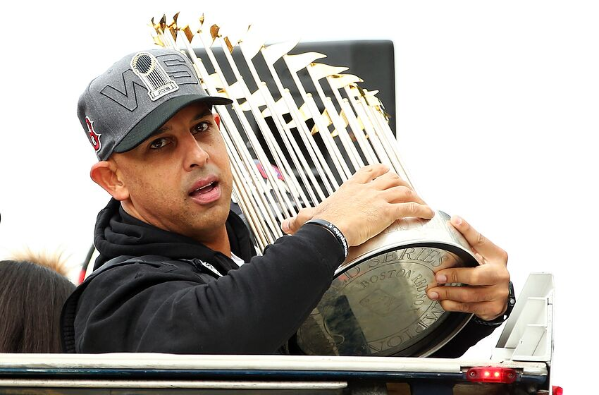 """43ba485db9802c Red Sox Manager Alex Cora """"The Making Of A Champion"""""""