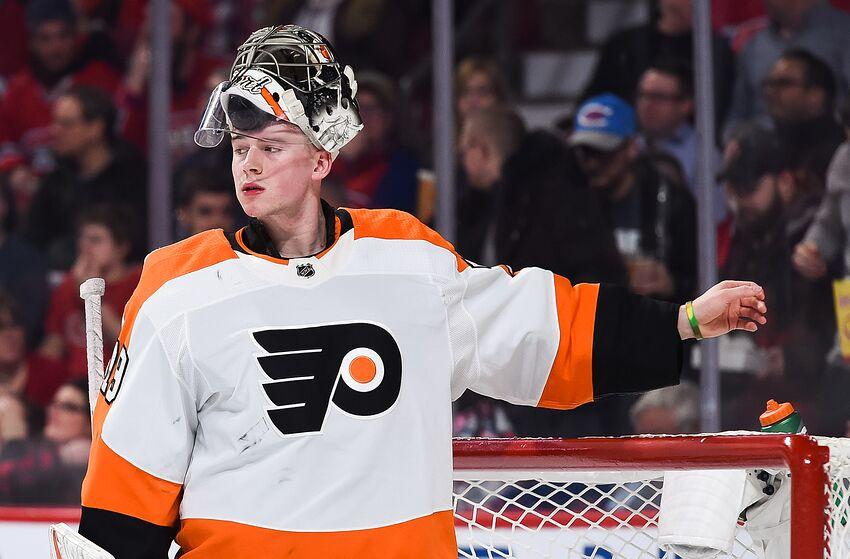 924ec9964 Philadelphia Flyers loan Carter Hart back to Lehigh Valley Phantoms