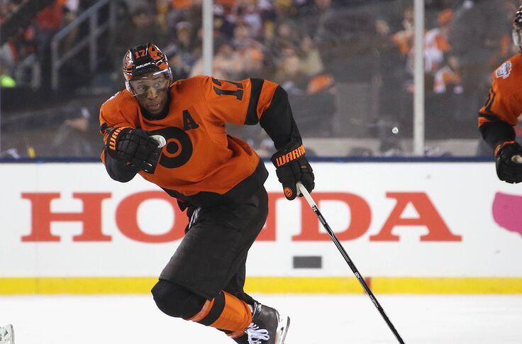 size 40 6a09f b963b Philadelphia Flyers: An Ode and Goodbye to Wayne Simmonds