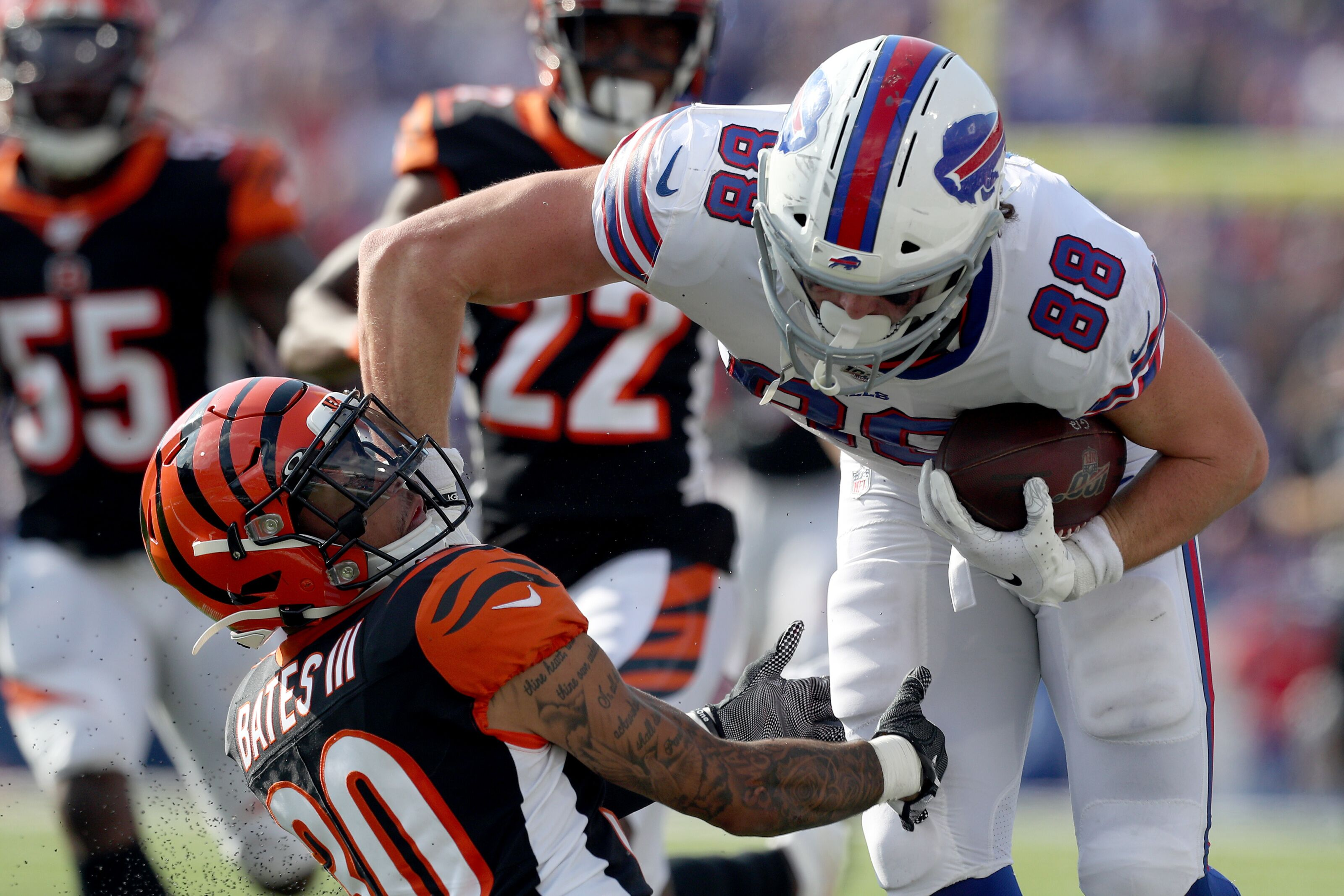 Buffalo Bills Rookie Review: Tight end Dawson Knox