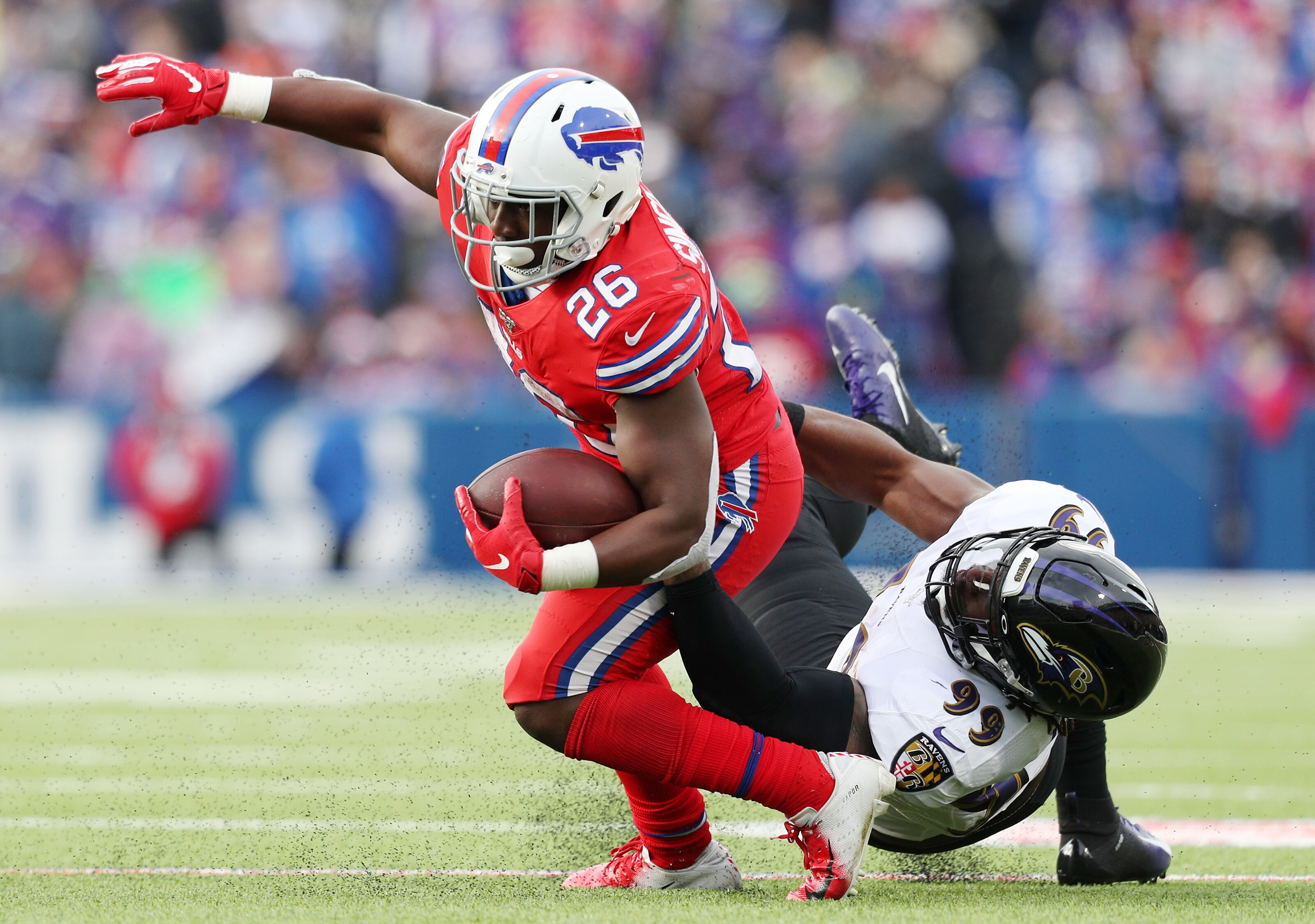 Buffalo Bills trail Ravens at halftime as offense struggles