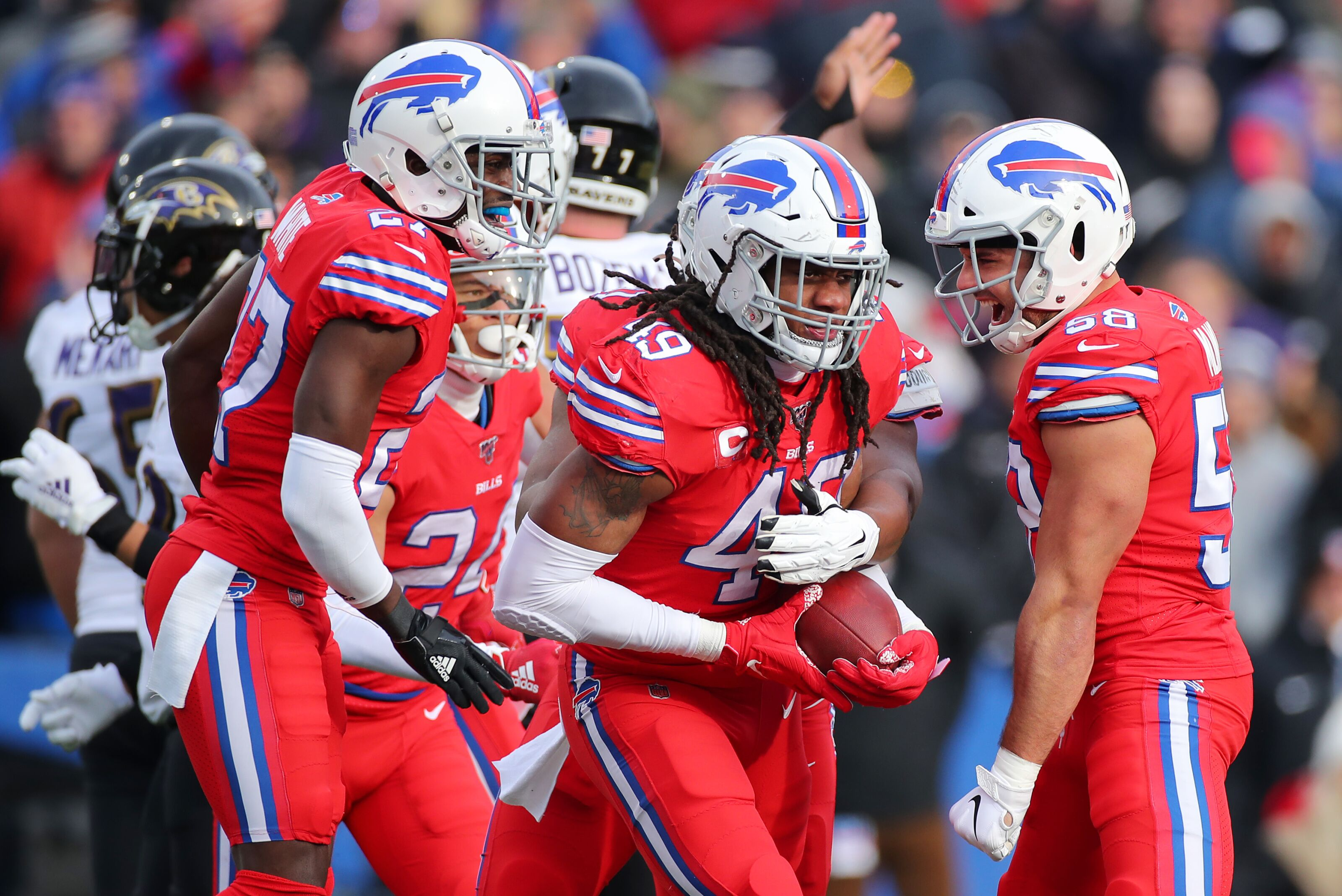 Buffalo Bills studs and duds from Week 14 loss