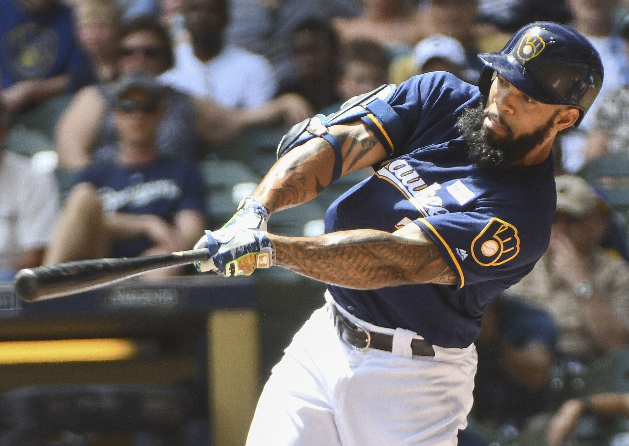 Milwaukee Brewers: Diagnosing Eric Thames' May slump